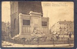 KORTRYK - Gdenkteeken 1914-1918 - COURTRAI - Monument 1914-1918 - Kortrijk
