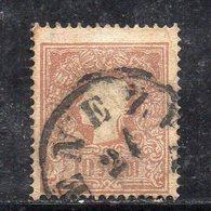 671 490 - LOMBARDO VENETO 1858 , Sassone N. 31  Usato  (M2200). STANCO - Lombardy-Venetia