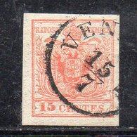 672 490 - LOMBARDO VENETO 1850 , 5 Cent  Usato  (M2200). - Lombardy-Venetia