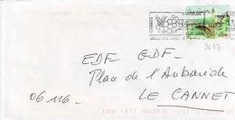 TP N° 3627 Seul Sur Enveloppe De Cannes Beal - 1961-....