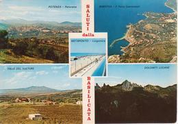 BASILICATA - POTENZA - MARATEA - VALLE DEL VULTURE - METAPONTO - DOLOMITI LUCANE - NON VIAGGIATA - Other Cities