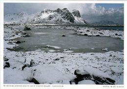 1 AK Norwegen Lofoten * Ansicht Der Insel Vestvågøy Auf Den Lofoten * - Norwegen