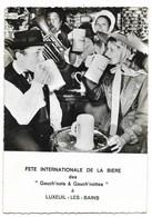 """70-LUXEUIL-LES-BAINS-Fête Internationale De La Bière Des """"Gauch'nots & Dauch'nottes"""" 31/8 Et 1/9.1968...  Animé - Luxeuil Les Bains"""