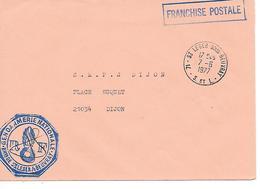 GENDARMERIE NATIONALE -St- Leger:/s Beuvray - ( 71 ) - Mechanical Postmarks (Advertisement)