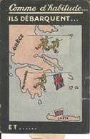 - GUERRE 1939/1945  - Propagande Anti Anglaise Par Régime Français Pro Allemand, 3 Scans, RARE - 1939-45