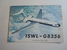 Cartolina Postale  QSL 1963 RAF  ISWL-G8356 - Radio