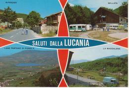 LUCANIA - RIFREDDO - SELLATA - LAGO PANTANO DI PIGNOLA - LA MADDALENA - ANIMATA - CAMPER - AUTO D'EPOCA CARS VOITURES - Other Cities