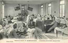 PARIS HOPITAL ET ASILE NOTRE DAME DE BON SECOURS AMBULANCE DE LA SALLE JEANNE D'ARC - Santé, Hôpitaux