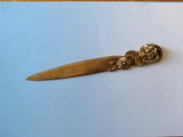 Coupe Papier Bronze A Bouny Style Art Nouveau - Letter-opener