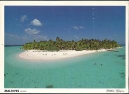°°° 20203 - MALDIVES KORUMBA KURUMBA  - 1993 With Stamps Sri Lanka °°° - Maldivas