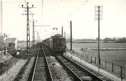 260320A - PHOTO BREHERET 1955 - TRANSPORT TRAIN CHEMIN DE FER - 31 Entre MURET Et CAZERES Le AP - Andere Gemeenten