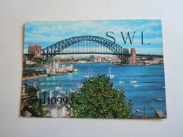 Cartolina Postale  QSL 19?? AUSTRALIA SWL ??? - Radio