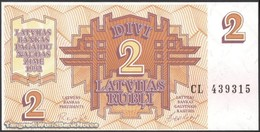 TWN - LATVIA 36 - 2 Rubles 1992 Prefix CL UNC - Lettonie