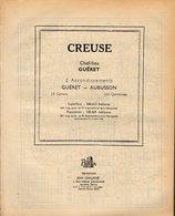 ANNUAIRE - 23 - Département Creuse - Année 1951 - édition Didot-Bottin - 62 Pages - Telefoonboeken