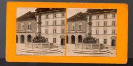 Fribourg (Suisse)  : Stéréophoto : La Fontaine De Samson  (PPP22172) - Stereoscoop