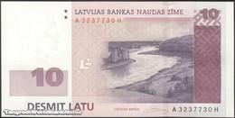 TWN - LATVIA 54 - 10 Latu 2008 A XXXXXXX H UNC - Lettonie