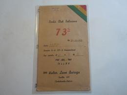 Cartolina Postale  QSL 1947 73 S  BOLIVIA - Radio