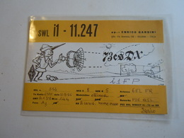 Cartolina Postale  QSL 1965 I1 11 247 - Radio