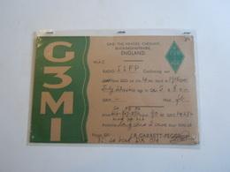 Cartolina Postale  QSL 1946 C3MI INGHILTERRA ENGLAND - Radio