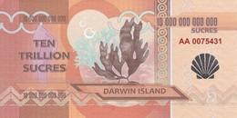 DARWIN ISLAND 10 MILIONI DI SUCRES 2015 PRIVATE ISSUE - Otros