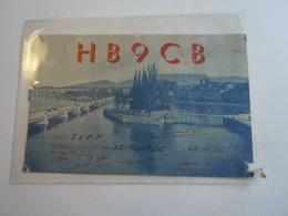 Cartolina Postale  QSL 1946???  HB9CB SVIZZERA - Radio