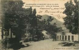 MACEDOINE  Campagne D'Orient Village D' X Pres De DOIRAN - Macédoine