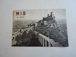 Cartolina Postale  QSL 1958  M 1 D SAN MARINO - Radio