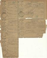 Imprimé N°1432 SOUCHE ET RECIPISSE RECLAMATION DE MANDAT POSTE - Cartas Civiles En Franquicia
