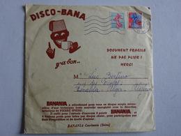 OHM 1 Disque 45 Tours Disco-Bana N°1 Publicité Banania Expédié En 1960 à Alger - Formats Spéciaux