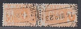 ITALIA - Pacchi Postali (Parcels) Sassone 11 - Cat. 60 Euro - Usato. Used. Luxus Gestempelt - Postal Parcels