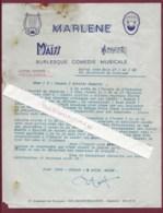260320C - SPECTACLE CIRQUE - Lettre 1968 ACHILLE ZAVATTA Burlesque Critique Clown Blanc Signature MAISS SOSMAN PIPO - Cirque