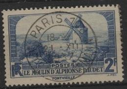 FR 1373 - FRANCE N° 311 Obl. Le Moulin D'Alphonse Daudet - France