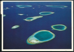 °°° 20207 - MALDIVES - BAROS - With Stamps Sri Lanka °°° - Maldivas