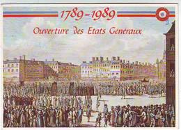 FANTAISIES . HISTOIRE . REVOLUTION FRANCAISE 1789-1989 . OUVERTURE DES ETATS GENERAUX . Ed. NUGERON N:2 - Historia
