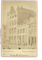 VUES D'UTRECHT C MARCUSSEN EDITEUR J M MULLER JR  16*10CM NEDERLAND HOLLAND Cabinet Photograph - Ancianas (antes De 1900)