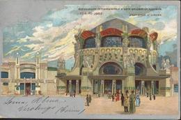 Italie CPA Esposizione Internazionale D'arte Decorativa Moderna Torino 1902 Vestibolo D'Onore CAD 1902 Torino Ferrovia - Mostre, Esposizioni