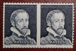 France Vignette Expérimentale Palissy Pa43 N** Luxe Gomme D'origine, Cote 8 E, Deux Photos - Phantomausgaben