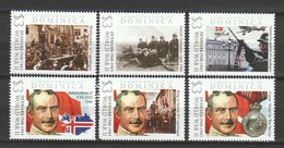 Dominica - MNH Serie WORLD WAR 2 - DENMARK IN WAR (see Scan) - WW2