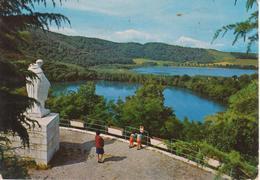 MONTICCHIO LAGHI - STATUA S. GIOVANNI GUALBERTI E I DUE LAGHI - ANIMATA - VIAGGIATA 1977 - Other Cities