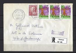 Luxembourg: 1152 Sur Lettre (RECOMMANDE° - Luxemburg