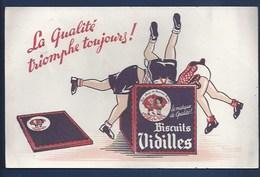 - BUVARD ILLUSTRÉ - BISCUITS VIDILLES - - Sucreries & Gâteaux