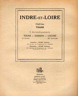 ANNUAIRE - 37 - Département Indre Et Loire - Année 1951 - édition Didot-Bottin - 114 Pages - Telephone Directories