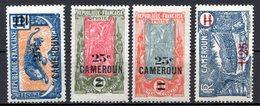 CAMEROUN (Mandat Français) - 1924-26 - N° 101 à 103 Et 133 - (Lot De 4 Valeurs Différentes) - Camerun (1915-1959)