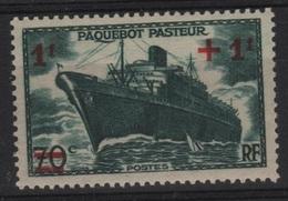 FR 1389 - FRANCE N° 502 Neuf** Paquebot Pasteur - France