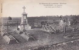 BERNECOURT : (54)  Le Cimetière Aux Morts Pour La Patrie - Andere Gemeenten