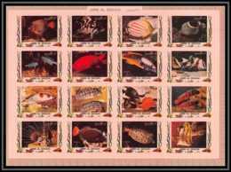 0123/ Umm Al Qiwain ** MNH Michel N° 1306 / 1321 Tropical - Poissons (Fish) - Umm Al-Qiwain