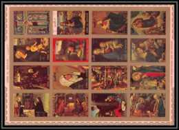 0129/ Umm Al Qiwain ** MNH Michel N° 1162 / 1177 The Life Of The Christ Tableau (painting) Non Dentelé ** (imperforate) - Umm Al-Qiwain