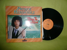 Patrick Hernandez - Maxi 45t - Born To Be Alive - 45 T - Maxi-Single