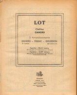 ANNUAIRE - 46 - Département Lot - Année 1951 - édition Didot-Bottin - 62 Pages - Telefonbücher