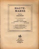 ANNUAIRE - 52 - Département Haute Marne - Année 1951 - édition Didot-Bottin - 72 Pages - Annuaires Téléphoniques